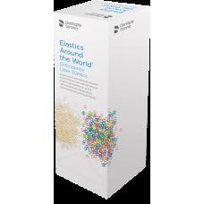 """GAC ELASTICS 5/16"""" Natural (Box of 50 patient bags)"""