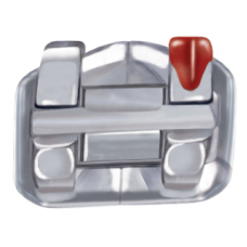"""MicroArch METAL BRACKET - EURO (MBT*) Rx - .022"""" - PKT OF 10"""
