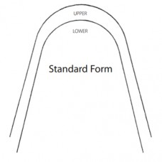 SS ARCHWIRES - STANDARD ARCHFORM - RECTANGULAR (PKT OF 25)