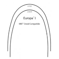 SS ARCHWIRES - EUROPA I - RECTANGULAR (PKT OF 25)