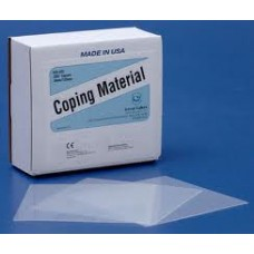 """COPING MATERIAL - .020"""" (0.5mm) - packet of 25"""