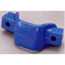 COLOURED PLASTIC TONGUE-AWAY SHIELDS (BLUE)