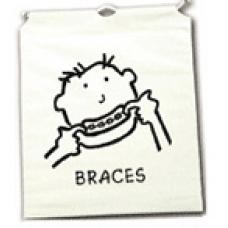 DRAWSTRING PROMO BAG - BRACES BOY - BAG OF 25