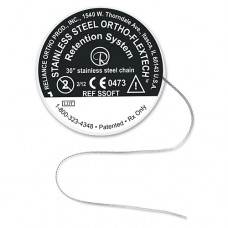 """ORTHO-FLEXTECH RETAINER CHAIN - STAINLESS STEEL - 30"""" SPOOL"""