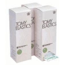 """TOMY ELASTICS 5/16"""" Natural (2 oz) (Box of 50 patient bags)"""